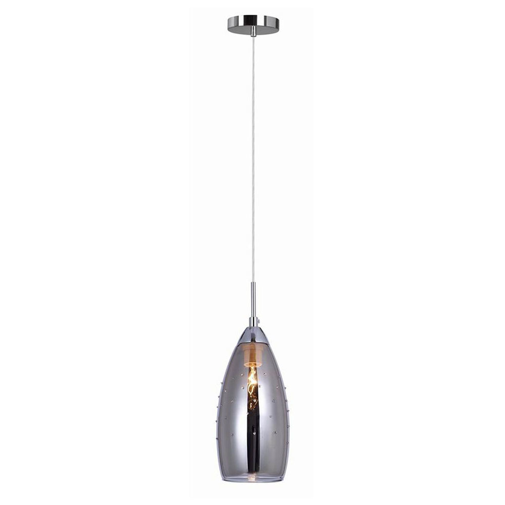 Moderní závěsná lampa Grace E14