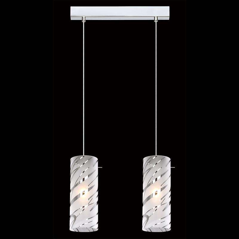 Moderní závěsná lampa E27 se 2 žárovkami