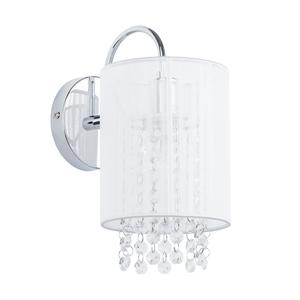 Bílé nástěnné svítidlo Lana WH E14 small 1