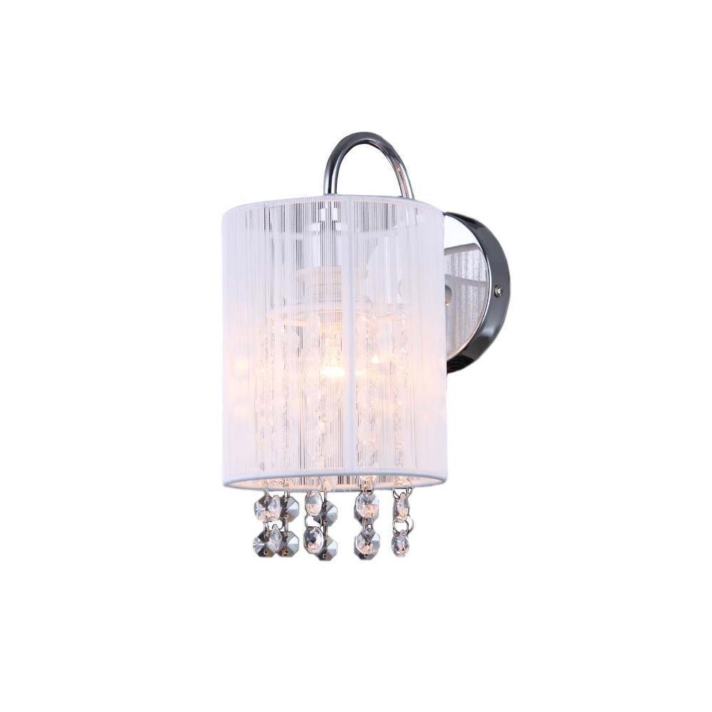 Bílé nástěnné svítidlo Lana WH E14