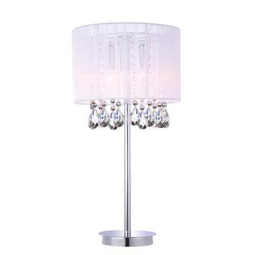 Bílá stolní lampa Essence E14, 3 žárovky