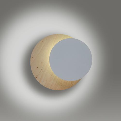 CIRCLE 1B WHITE nástěnná lampa