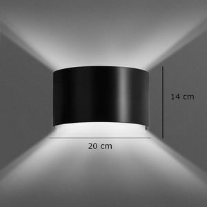 Nástěnná lampa VOLTA BLACK small 1