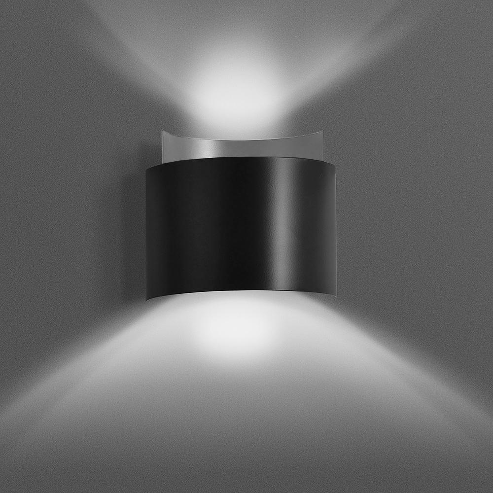 Nástěnná lampa VOLTA BLACK