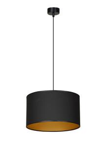 ZÁVĚSNÁ LAMPA ROTO 1 ČERNÁ / ZLATÁ small 0