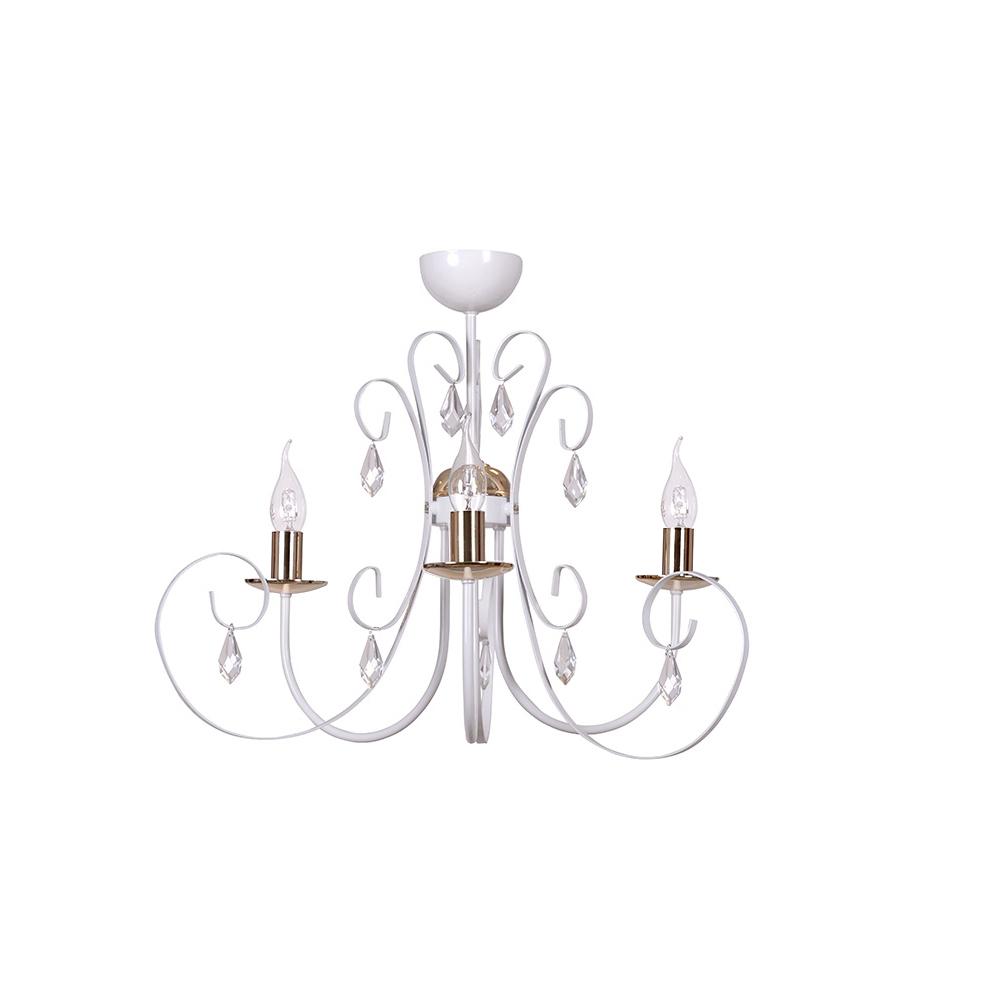 FOREMAN 3 WHITE CEILING LAMP