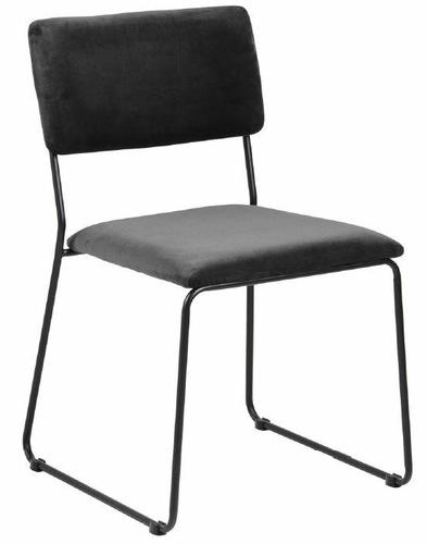 Židle ACTONA CORNELIA antracit - velur, kov