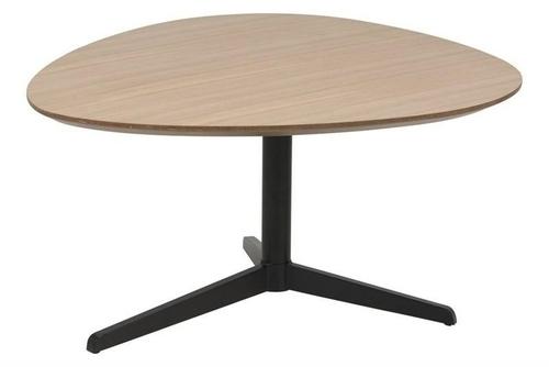 Konferenční stolek ACTONA dub BARNSLEY - MDF, kov
