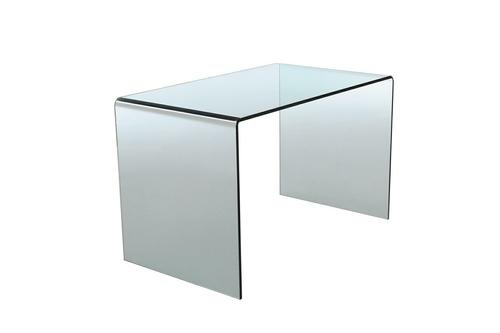 Skleněný stůl INVICTA FANTOME transparentní - sklo 20 mm.