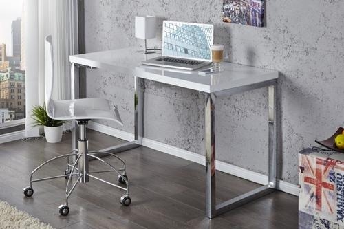 Psací stůl INVICTA VERK 120x60 bílý