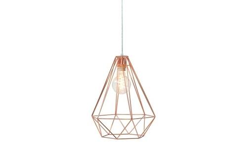 INVICTA Závěsná lampa GEOMETRIC - měď