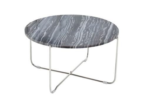 INVICTA stůl NOBEL stříbrný