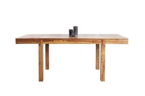 INVICTA rozkládací stůl LAGOS 120-200 sheesham - přírodní dřevo