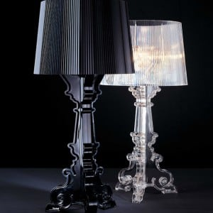 Glamour Stolní lampa Kartell BOURGIE Transparent small 2