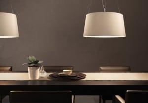 Závěsná lampa Kundalini Stativ Ecru 3x100W E27 small 0