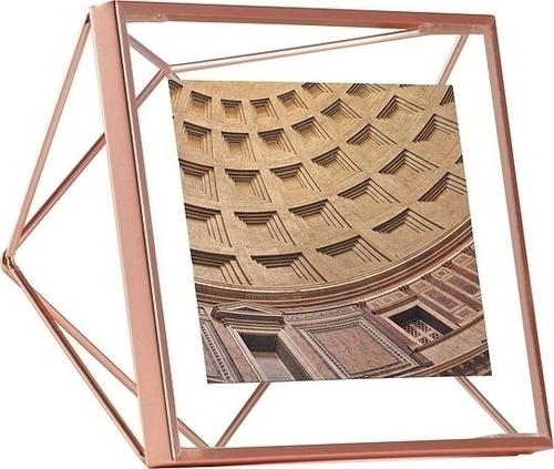Fotorámeček UMBRA PRISMA 10x10 cm - měď