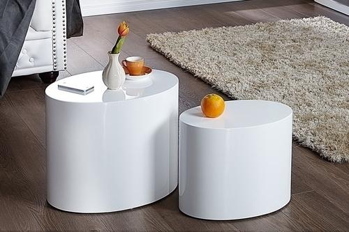 DIVIZE stolní souprava bílá - MDF
