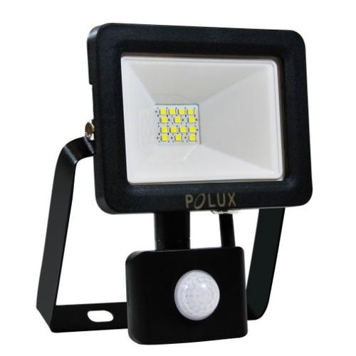 LED projektor POLUX 10W IP65 senzor černý