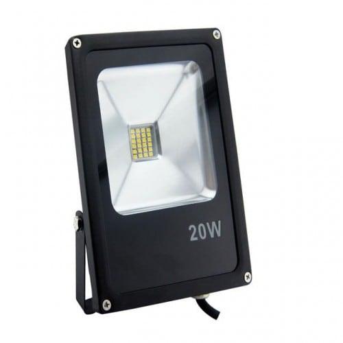 Projektor LED POLUX 20W IP65 černý