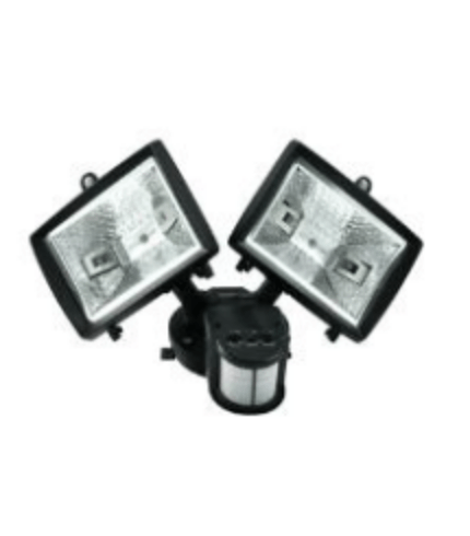 Halogenový projektor POLUX HP78Bx2SR 2x150W se senzorem