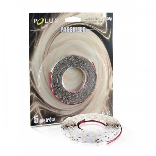 Taśma LED Polux 5m barwa biała ciepła 16 W IP20