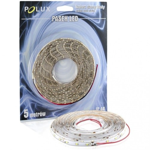 Polux LED pásek 5 m IP44 studená bílá barva 1000 lm 6500 K