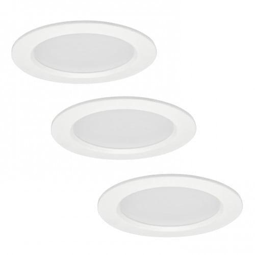 Oprawy LED POLUX MIRO IO8XWWWH3-280 3w1 biale trójpak