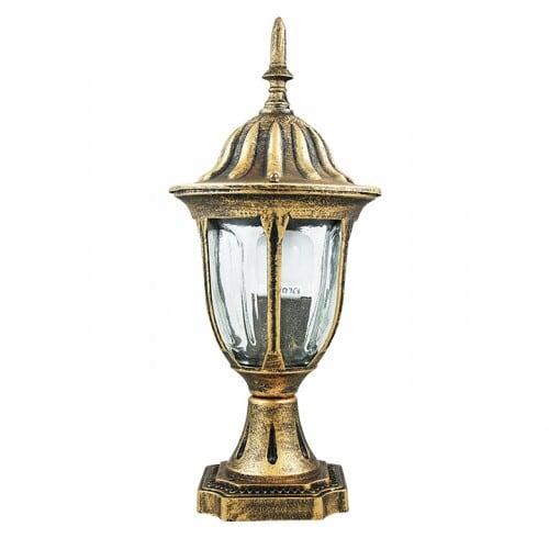 Zahradní lampa POLUX FLORENCJA ALU3118LP patina low