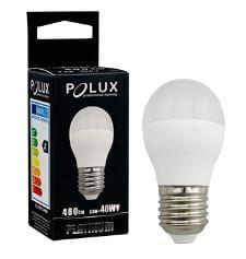 LED POLUX G45 E27 1: 1 SMDWW 480lm keramická žárovka