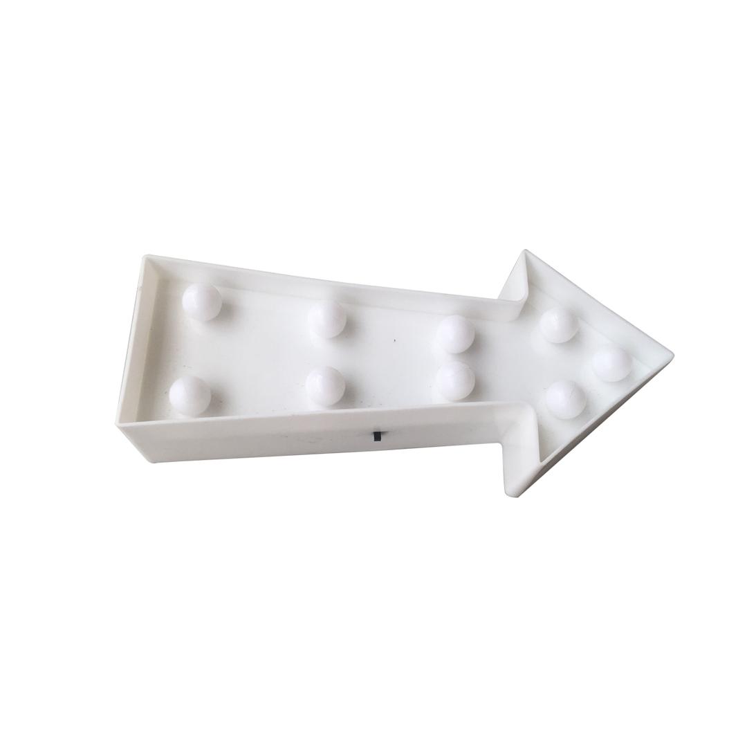 Plastová LED šipka