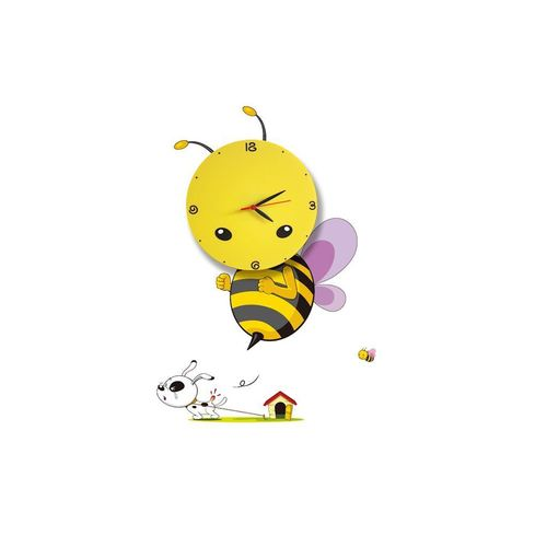 Dětská lampa Bee LED Clock 0,6 W