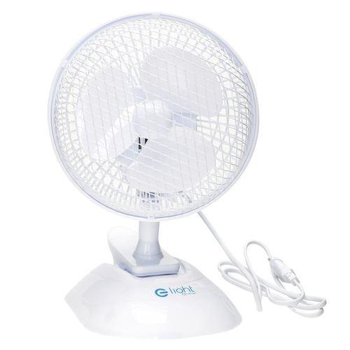 Stolní ventilátor Eko Light 6 '' 2v1 bílý