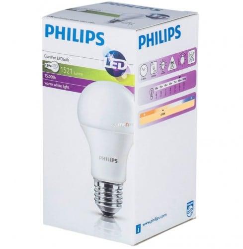LED žárovka PHILIPS 13,5 W E27 1521lm CorePro