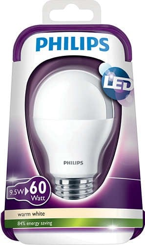 LED žárovka PHILIPS 9W 806 lm