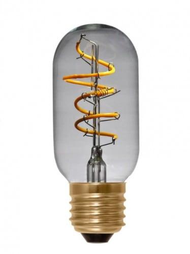 Dekorativní Edison LED Tuba žárovka T45 E27 Segula