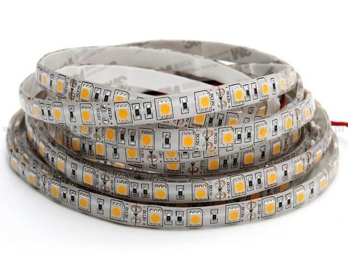 60 LED pásek 72 W. Studená bílá barva. Ip20. (5 metrů)