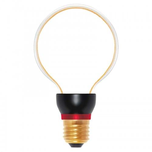 Dekorativní LED žárovka ART Globe, 8 W, E27