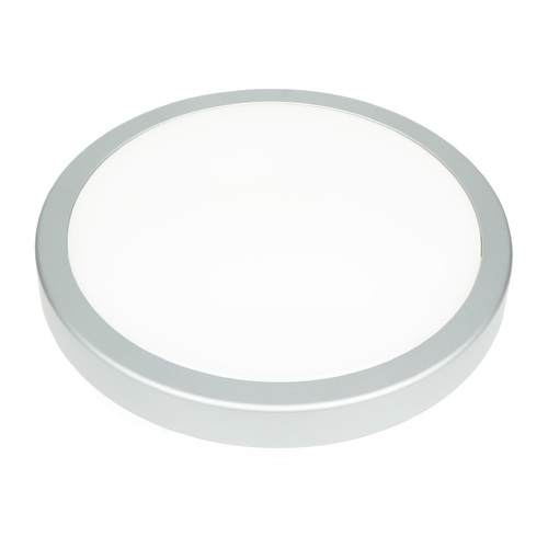 Stříbrný LED Plafond 18 W 3000 K Ip65 IP65