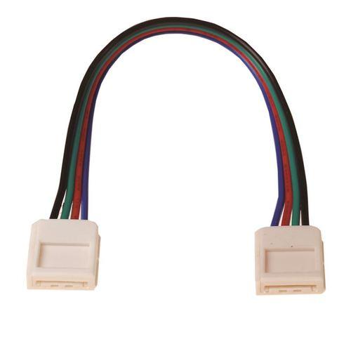 Led Rgb 10mm konektor. Oboustranný konektor.