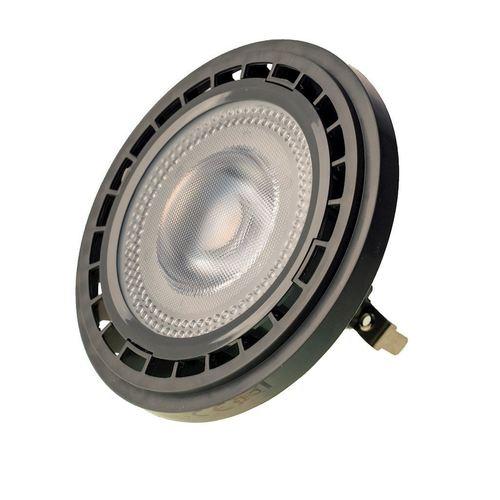Žárovka Ar111 10 W G53 3000 K / šedá