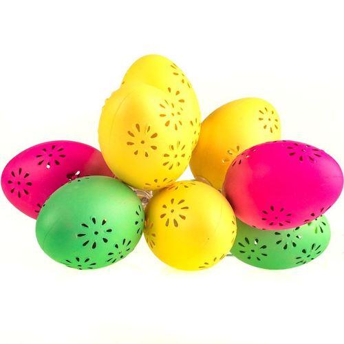 Plastová LED velikonoční vajíčka se vzorem