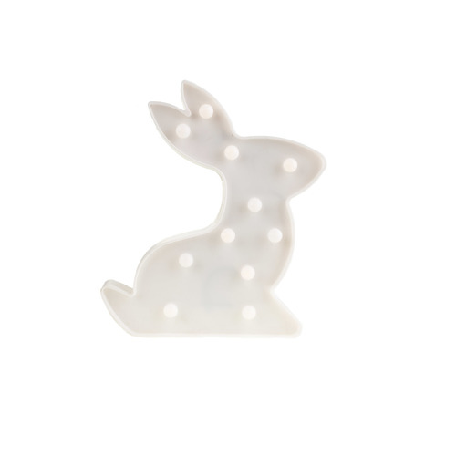 Plastový zajíc